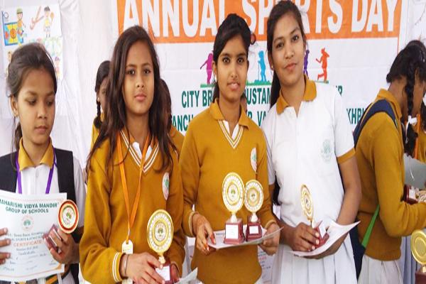 Student Achieved Awards at MVM Gorakhpur